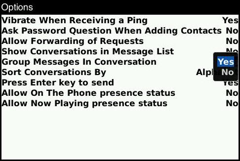 Hotlinks In BlackBerry Messenger!