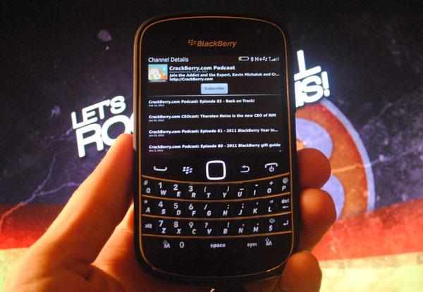 BlackBerry Podcasts