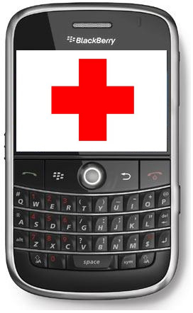 BlackBerry in Pocket Saves Skier's Life in Snowy Mountain Fall