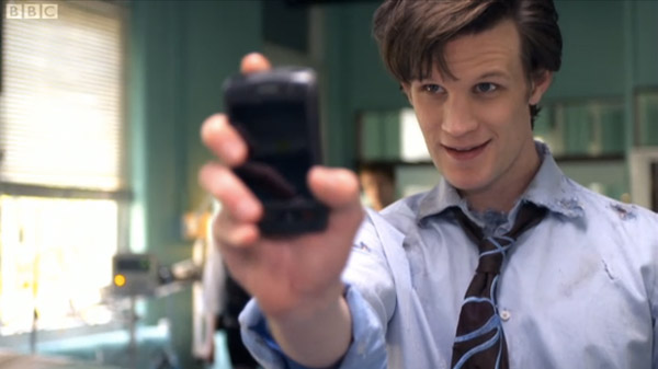 Dr. Who Rocks A Debranded BlackBerry Storm