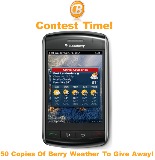 Berry Weather Launch And Give Away!!