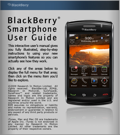 BlackBerry Storm2 101 Userguide