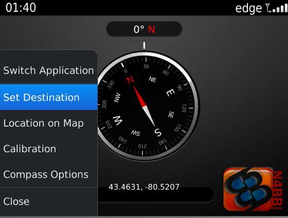 BlackBerry Digital Compass