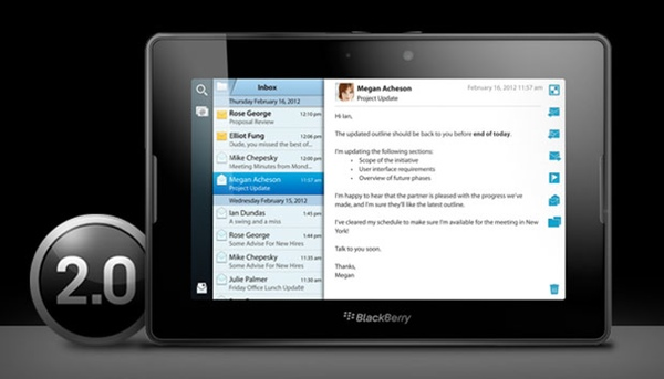 BlackBerry PlayBook Update