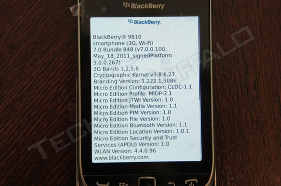 BlackBerry Torch 2