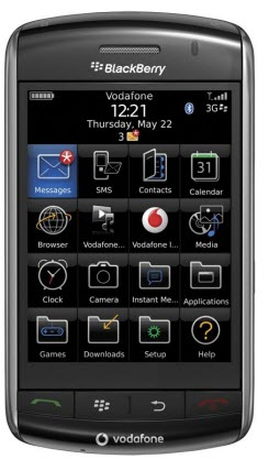 Leaked: BlackBerry Storm 9500 OS 4.7.0.181