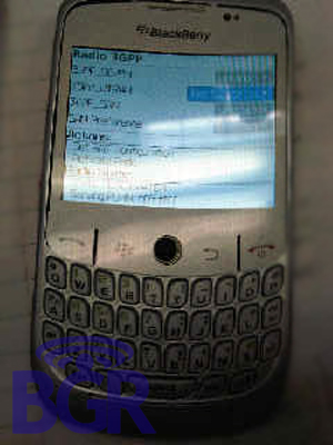 BlackBerry Gemini Shows It's Face!