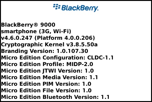 BlackBerry Bold OS .247 Leaked!