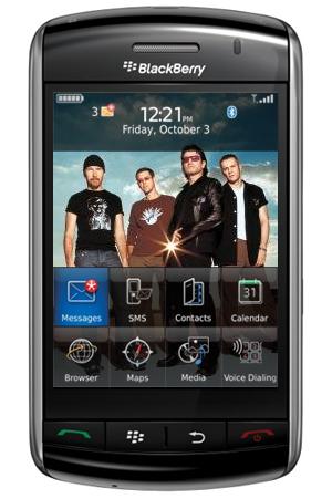Bono and Edge Designing BlackBerry?