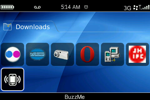 BuzzMe-Have Your BlackBerry Vibrate And Ring At The Same Time!