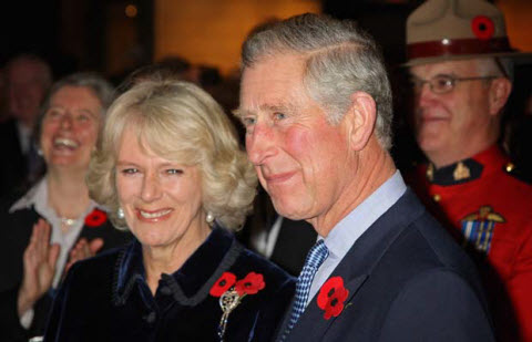 Prince Charles and Camilla Given BlackBerry Smartphones Courtesy Of Ontario Premier McGuinty