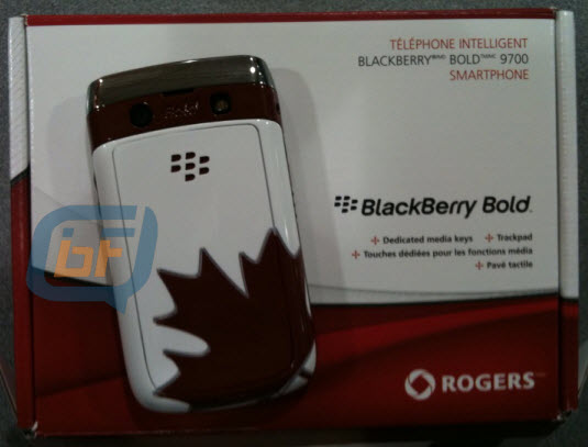 Remember That Team Canada BlackBerry Bold 9700?