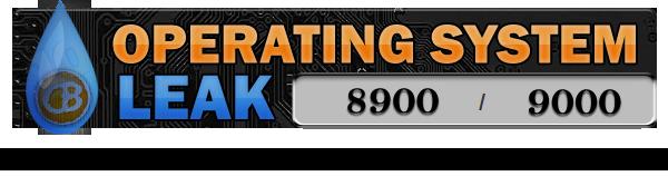 Bold/8900 OS Leak