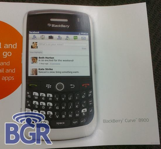BlackBerry Curve 8900 In White?!?