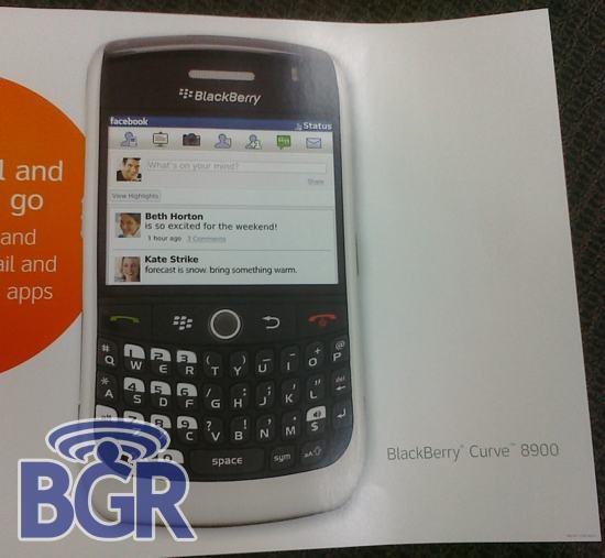 BlackBerry Curve 8900 In White?!?