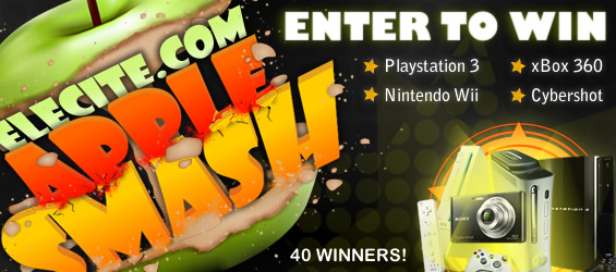 Elecite Apple Smash - Destroy An Apple For Some Awesome Prizes