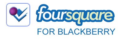 foursquare for blackberry logo