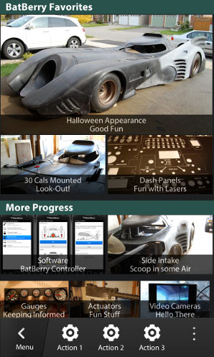 BlackBerry 10 Grid Layouts
