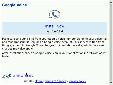 Google Voice Updated