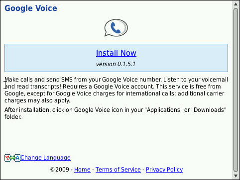 Google Voice For BlackBerry Updated To Version 1.5.1
