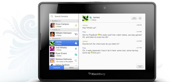 im+ For BlackBerry PlayBook