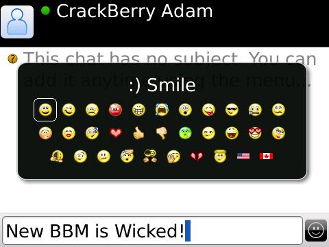 BlackBerry Messenger 5.0 Launching October 7th?!