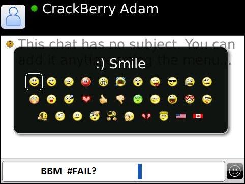 BlackBerry Messenger Failures?