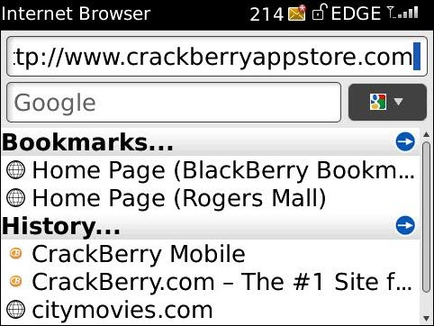 Opening The Shop CrackBerry Store