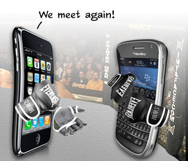 Give The BlackBerry Tour A Helping Hand Against The iPhone 3GS!