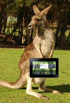 BlackBerry PlayBook coming to Australia starting at $579