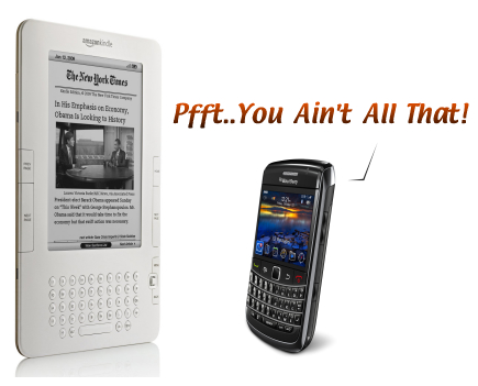 SureThe Kindle And eBooks Did Well But So Did BlackBerry