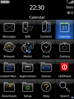LEDReset for BlackBerry Resets Ghost LED's