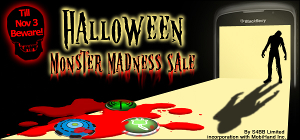 Halloween Monster Madness Sale