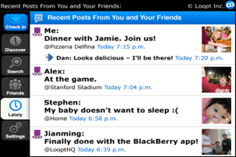 Loopt For BlackBerry