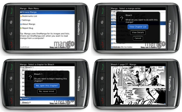 Beta App: Mango Manga Reader For Storm