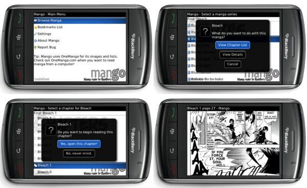 Beta App: Mango Manga Reader For Storm