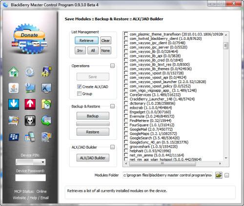 BlackBerry Master Control Program 0.9.3.0 Beta 4 Now Available