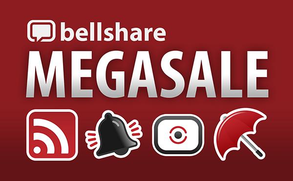 Bellshare Megasale!