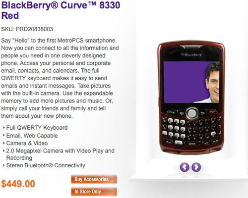 metroPCS Launches BlackBerry Solution!