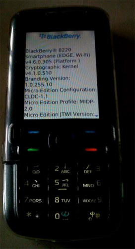 BlackBerry OS Running On A Nokia 5700?