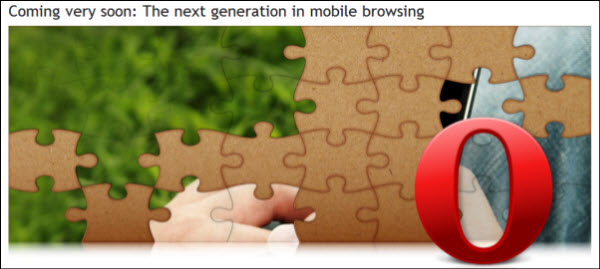 Opera Mobile 5 Coming Soon?