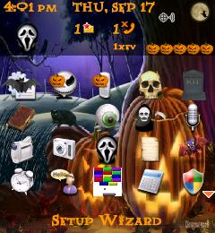 Pearl Halloween Theme