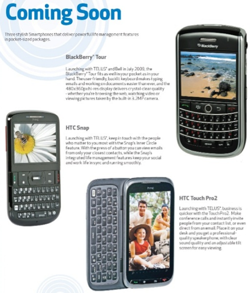 Telus And Bell BlackBerry Tour Appears In Best Buy Flyer!