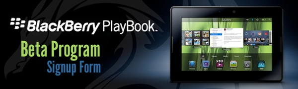 DragonRAD Beta Program now open to developers looking to build applications for the BlackBerry PlayBook