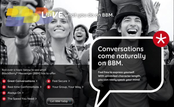 What Is RIM Planning For BlackBerry Messenger?