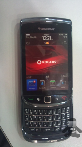 Rogers BlackBerry Torch