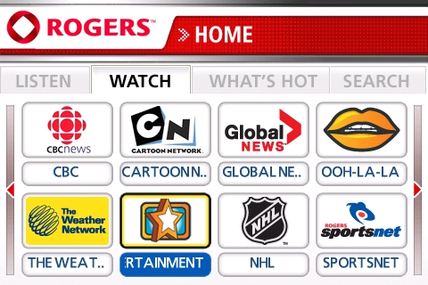Rogers On Demand For BlackBerry!