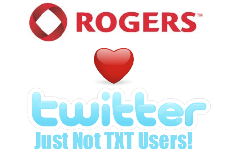 Twitter SMS Returns To Rogers And Fido!