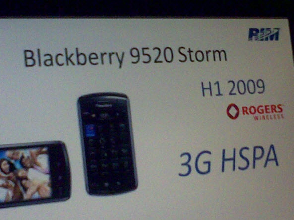 Storm 9520 and 3G Pearl Flip not coming to Rogers in first half of 2009?!