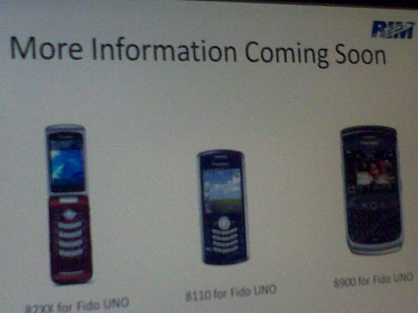 Fido's New BlackBerry Line Up!